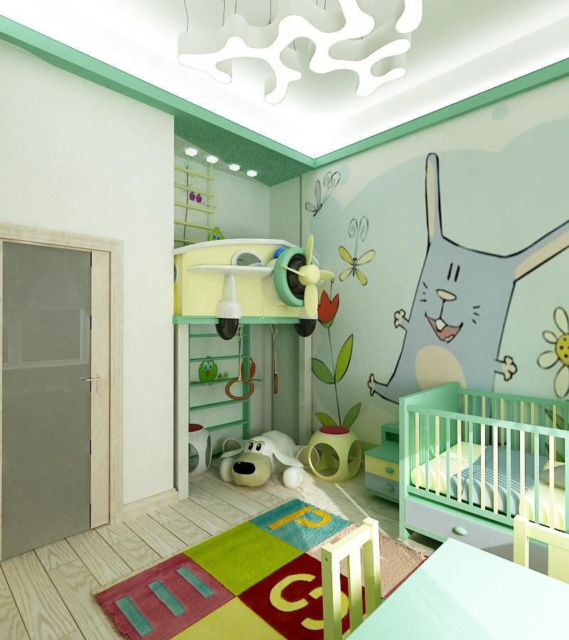 интерьер детской