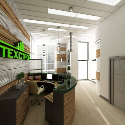 Офис компании «Техстрой». Академический