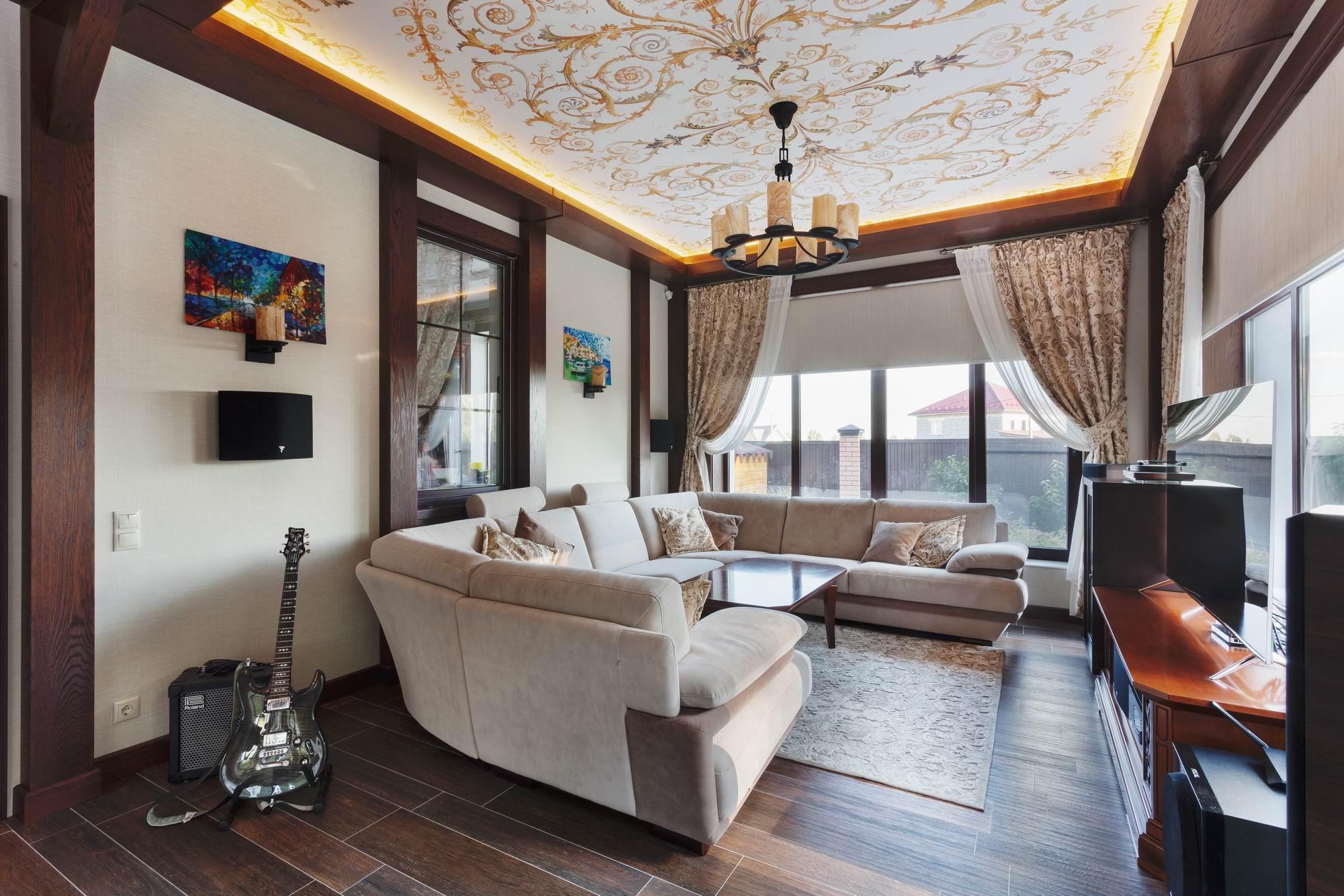 Завершили реализацию дизайн-проекта веранды в коттеджном поселке Александрия.