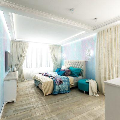 Квартира в стиле «Фьюжин» в ЖК Мечта.