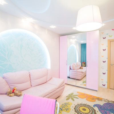 Проект интерьера квартиры «Творческая семья»
